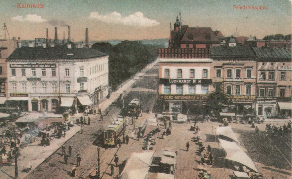Katowice_Rynek_XIXwiek