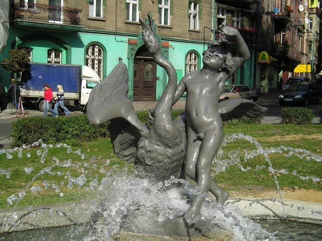 Chorzow_chlopiec_fontanna